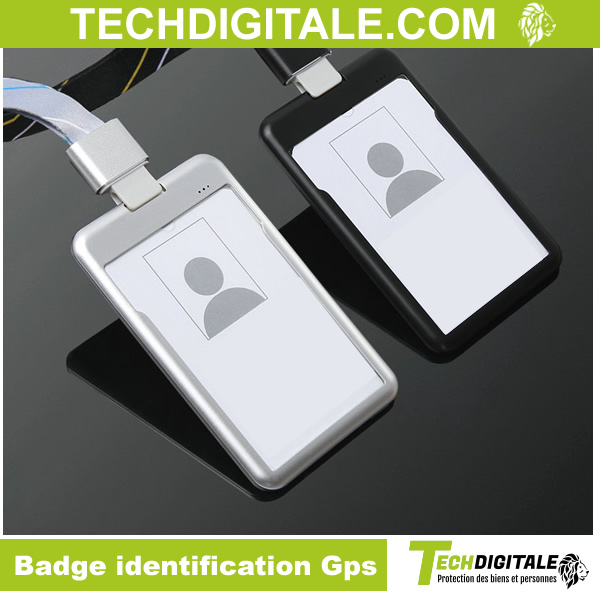 badge identification gps
