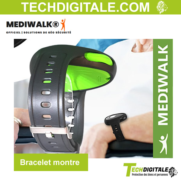 bracelet montre color box mediwalk