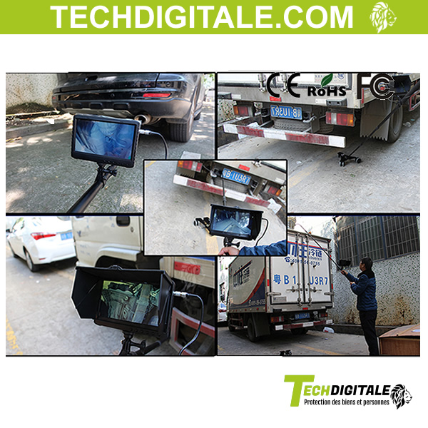 filtrage inspection camion
